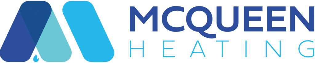 mc queen heating logo